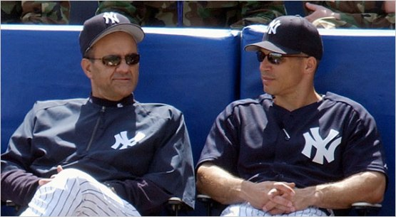 Clueless Joe...Girardi or Torre. Take your pick.